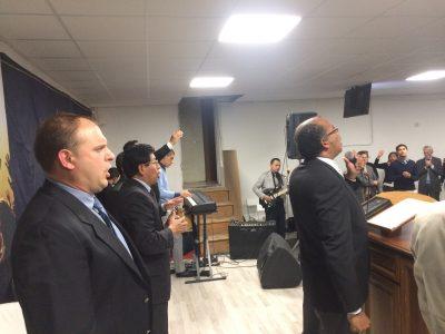 La Piattaforma durante la Confraternità Missionaria 2016 del Distretto 1