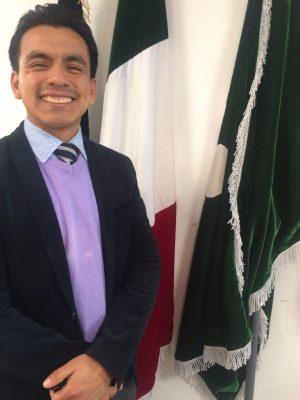 Pastore Cristian Calva Segretario del Comitato Nazionale per i Giovani