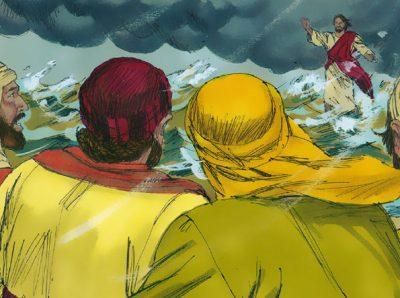 ma subito Gesù parlò loro, dicendo: «Rassicuratevi; sono io, non temete!»  Mat.14:27