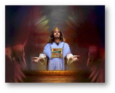Il sommo sacerdote davanti all'Angelo dell'Eterno