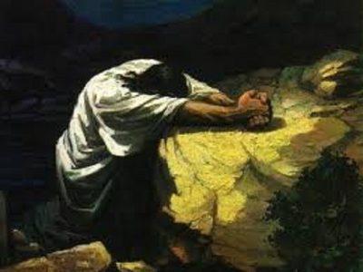 Passò la notte in preghiera