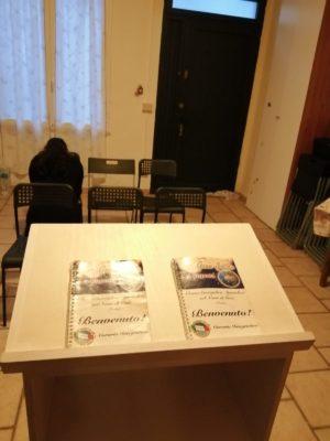 Livorno: sala provvisoria di Riunioni della Chiesa Evangelica Apostolica nel Nome di Gesù