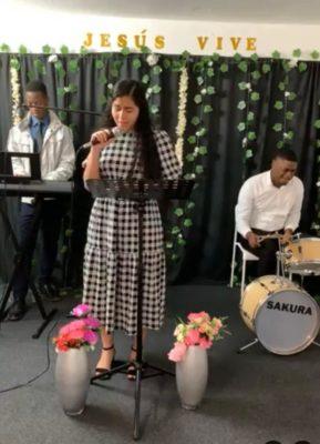 Durante il servizio di culto